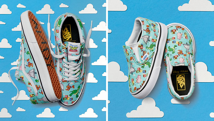 zapatos vans toy story